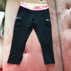 Size 14 Black Ivivva Leggings